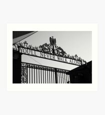 This is Anfield Art Print