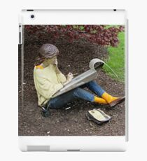 Sketching Under The Red Maple (Close-up) iPad Case/Skin