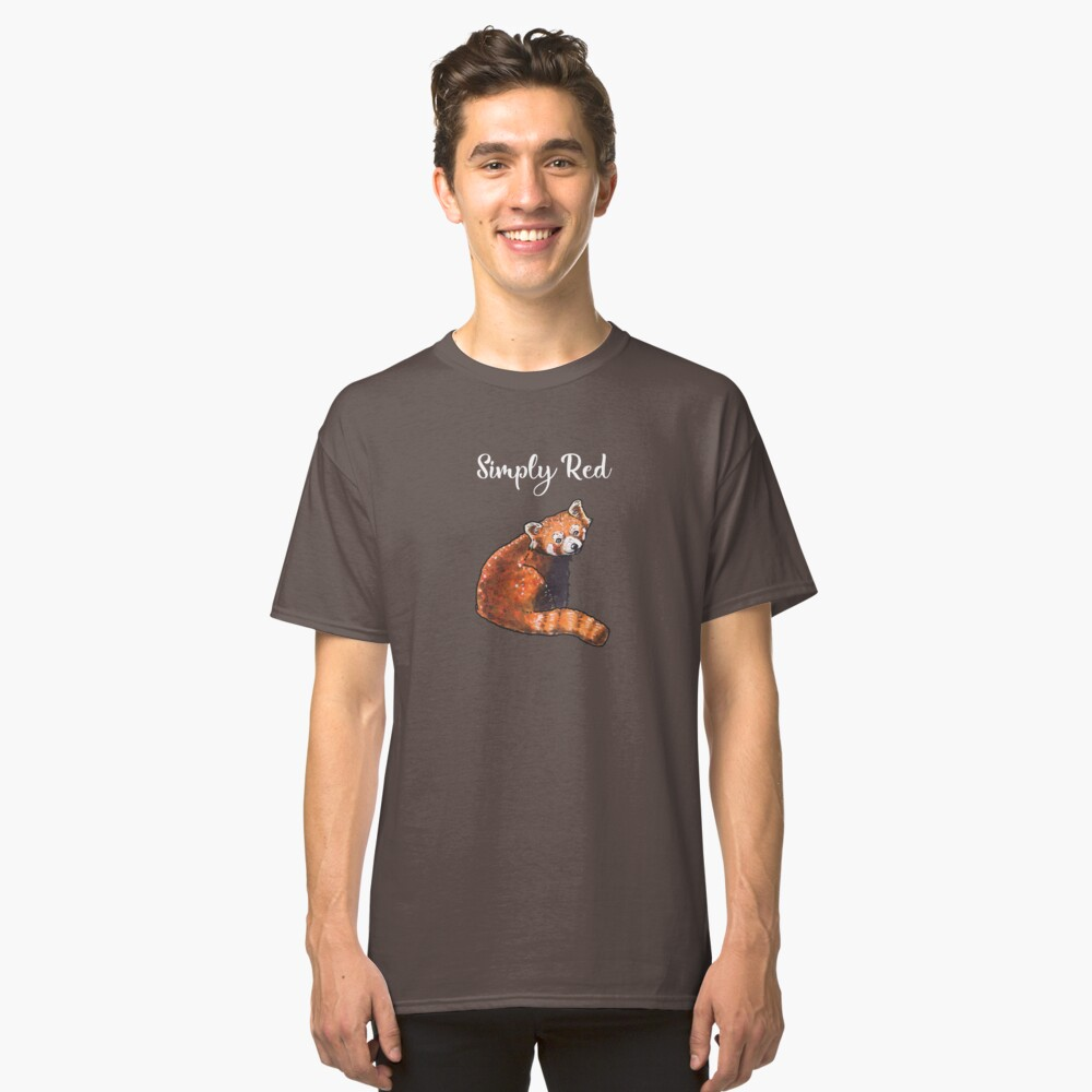 Red Panda - Animal series Classic T-Shirt