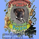Giacomo Poochini Puccini Pooch Opera Dog Classical Music Composer by AnimalComposers