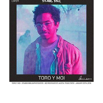 Toro Y Moi Stubbs Concert Shirt 2019 by iixwyed