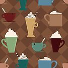Coffee and Lattes by Pamela Maxwell