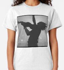 Revenge of the nerds violin punk silhouette  Classic T-Shirt