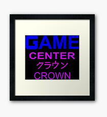 Sailor Moon Crown Arcade  Framed Print