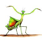 Dancing Mantis by PhilippaCleall