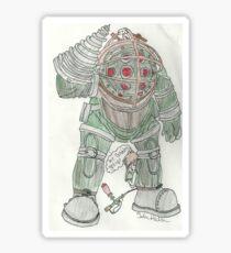 Mr. Bubbles Sticker
