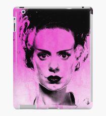 Bride Of Frankenstein on Pink iPad Case/Skin