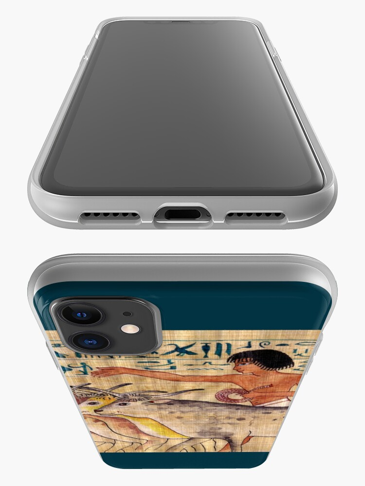 Alternate view of Happy Cows of Nebamun iPhone Case & Cover