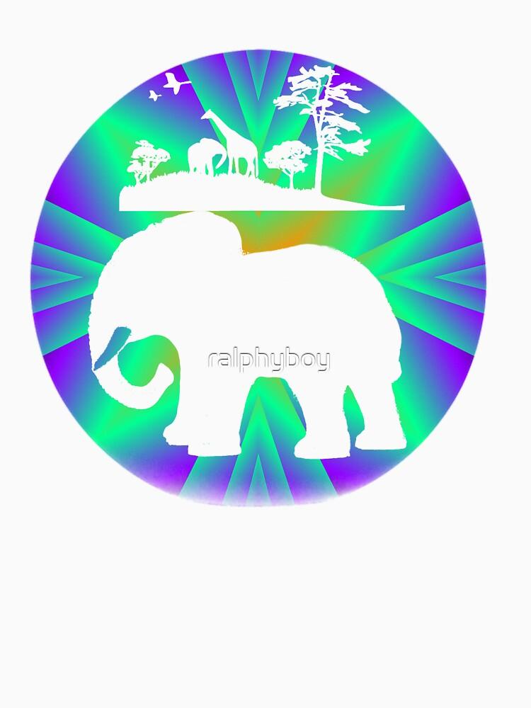 africa t-shirt by ralphyboy