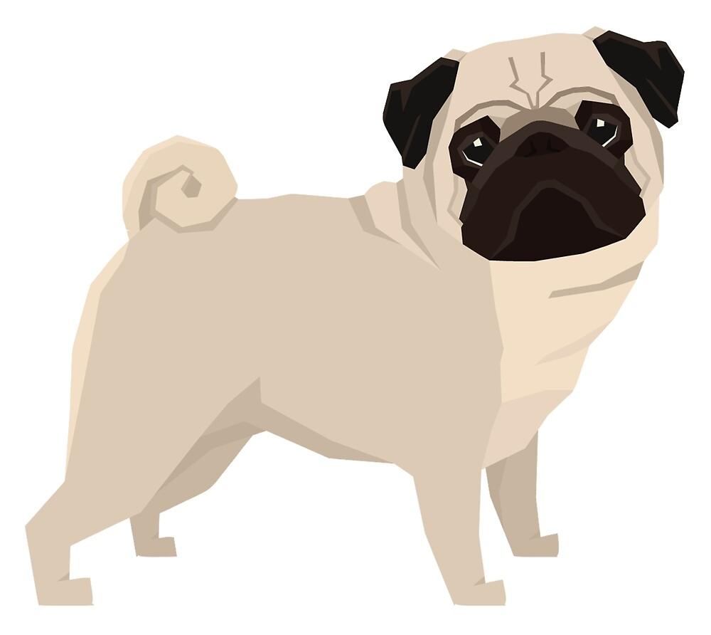 PugaTude by Happy Dog Swag