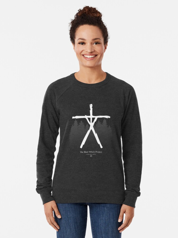 Alternate view of The Blair Witch Project - Scary Movies Lightweight Sweatshirt
