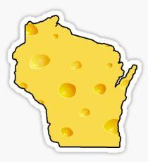 Pegatina Estado del queso de Wisconsin