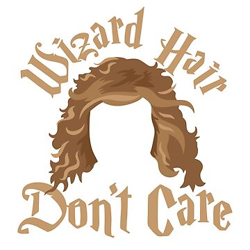 Wizard hair Don't care by jazzydevil