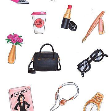fashion stickers by reyniramirezfi
