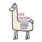 A Little Llama Drama by Pamela Maxwell