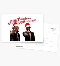 Merry Christmas - Pulp Fiction Postcards