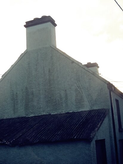 Old green house in bantry. by mollycool12