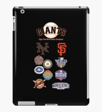 Giants 8-Time World Series Champions iPad Case/Skin