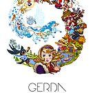 Schneekönigin - Reise von Gerda von illumillu