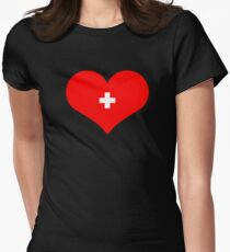 Nurse Love Women's Fitted T-Shirt