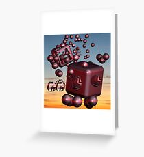 It is all in the universe! Greeting Card