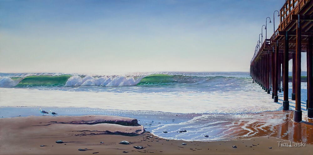 """Southside Ventura pier"" by Tim Laski"