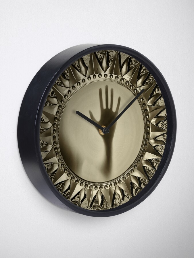 Alternate view of Trapped Soul Clock Clock