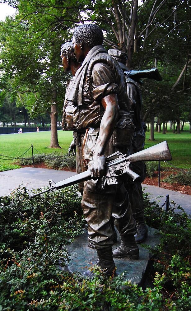 Vietnam War Memorial -- Solemn Soldiers by CG1977