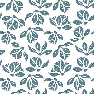 Seamless pattern with leaves in vintage style. Seamless pattern for your design wallpapers by AnaMOMarques