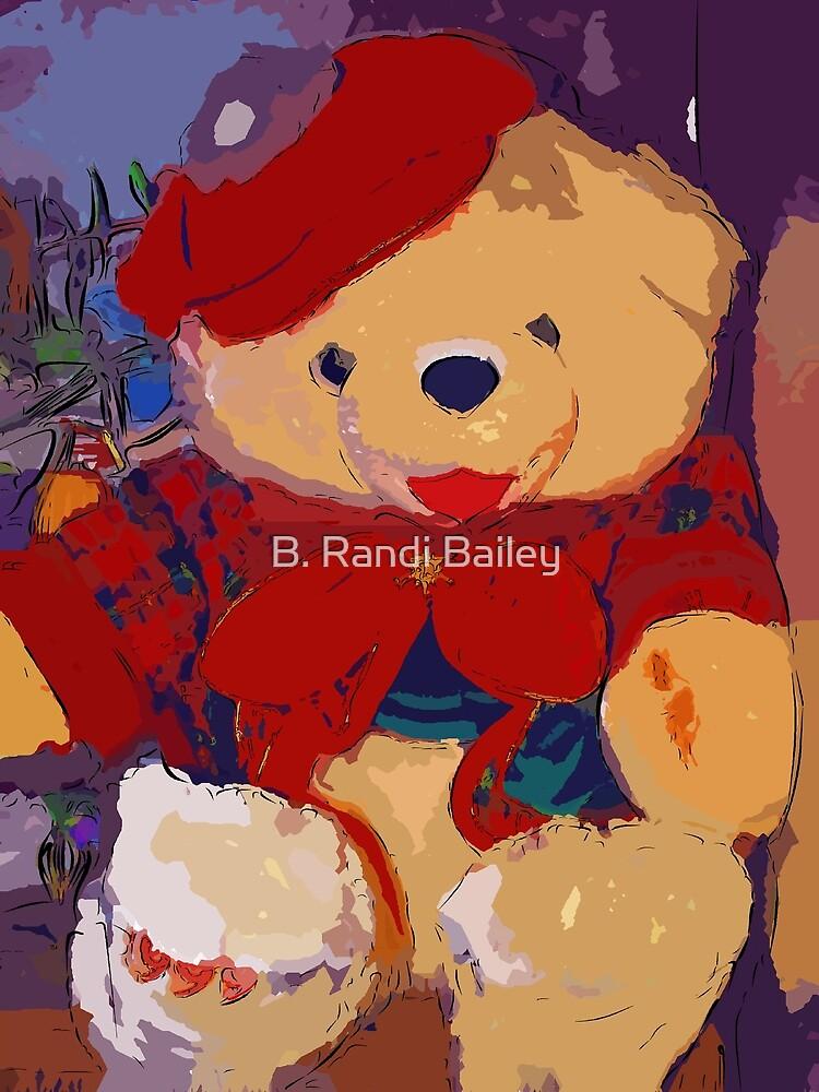 Jolly Christmas teddy bear by ♥⊱ B. Randi Bailey