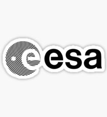 European Space Agency Logotype Sticker