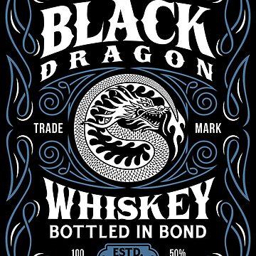 Whiskey - Black Dragon Brand by Skullz23