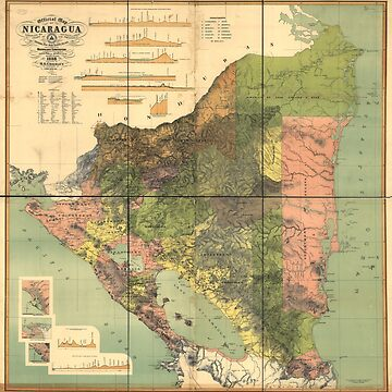 Map of Nicaragua (1898) by allhistory