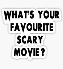 Scream - Scary Movie Sticker