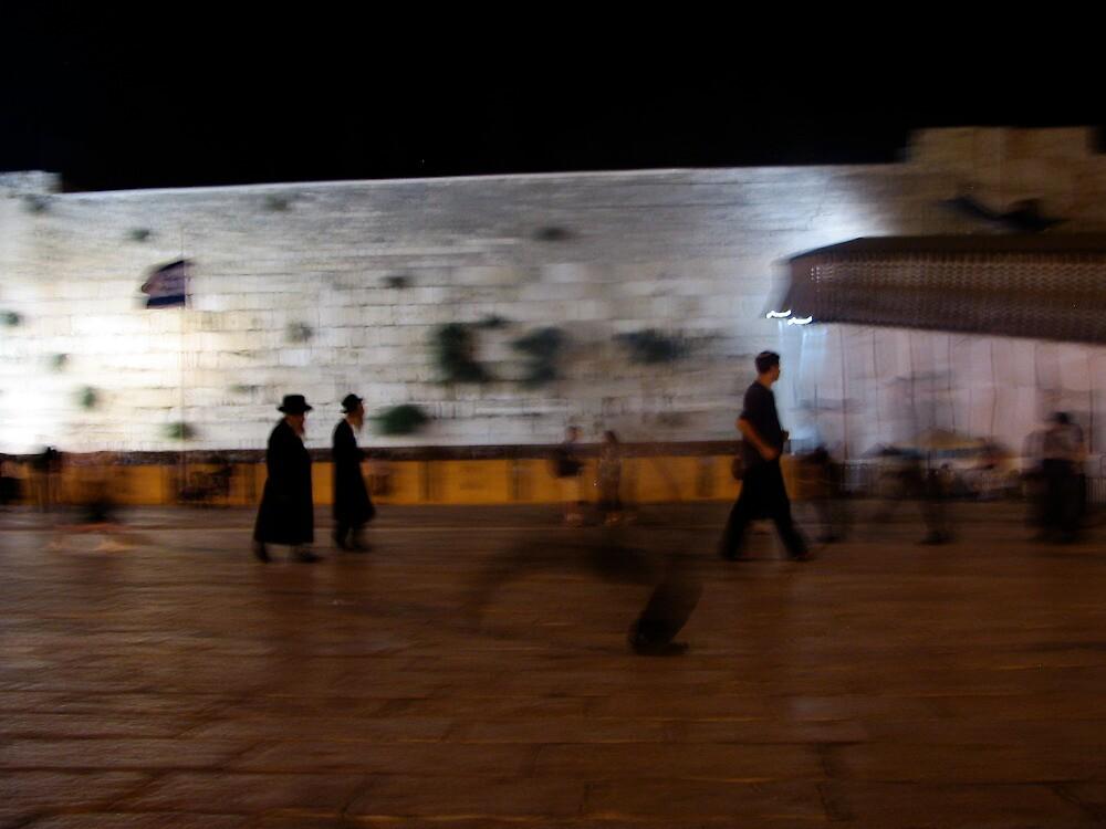 Western Wall, Kotel, Jerusalem by Michael Berns