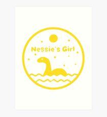 Nessie's Girl Art Print