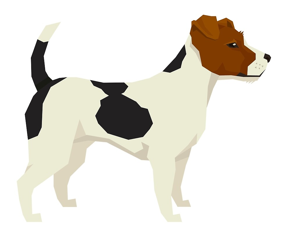 Jack Russel Terrier by Happy Dog Swag