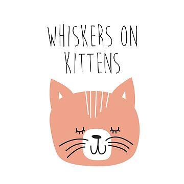 Sound of music kids tee - kitten by laurathedrawer