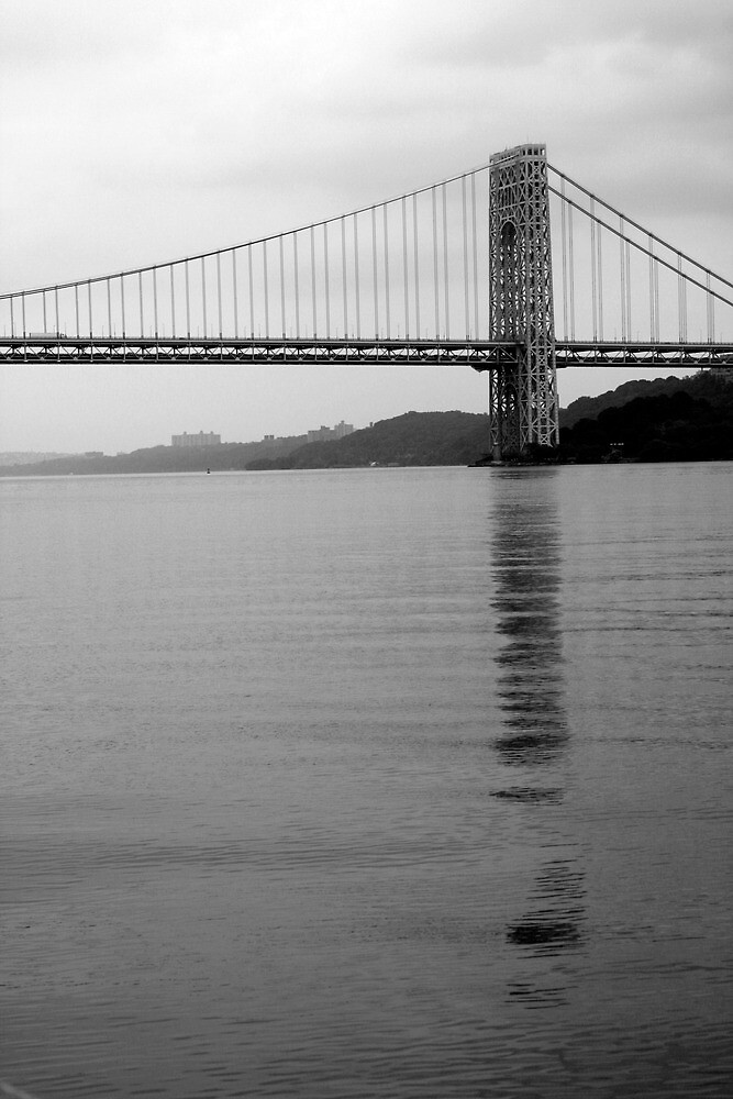 Hudson River and George Washington 2 by Michael Berns