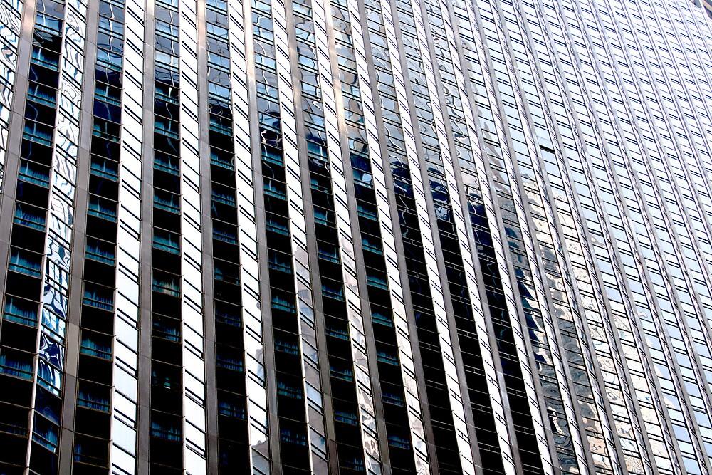 New York Building 3 by Michael Berns