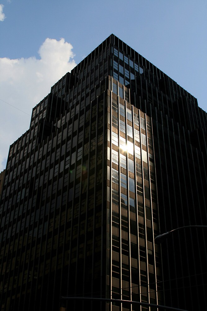 New York Building 4 by Michael Berns