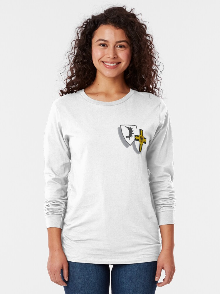 Alternate view of Ostpreussen/Teutonic Knights symbols Long Sleeve T-Shirt