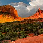 Two Buttes by BGSPhoto