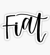 FIAT Sticker