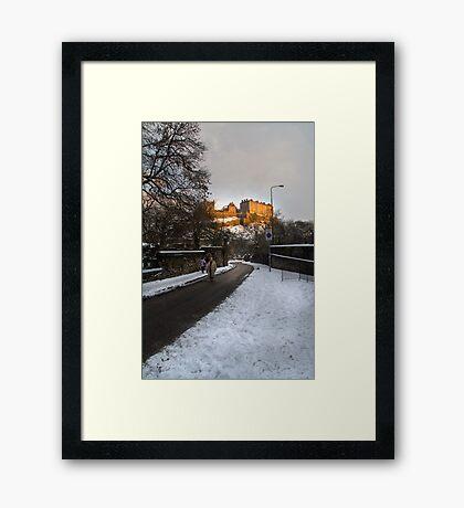 Edinburgh Winter II Framed Print
