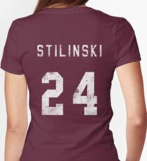 Stilinski Jersey Womens Fitted T-Shirt