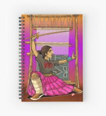 Lady Loom Slayer Spiral Notebook