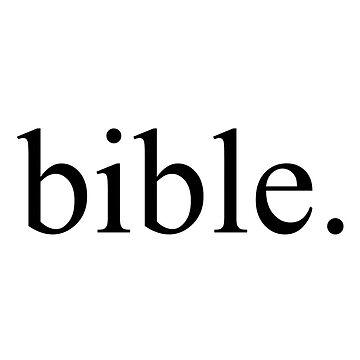 bible. by laffsley