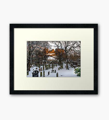Edinburgh Winter IV Framed Print