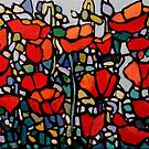 Poppies  by Alison Newth